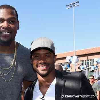Kevin Durant, Russell Wilson to Participate in Barack Obama's Virtual Graduation - Bleacher Report