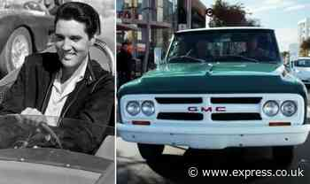 Elvis Presley: Graceland reveal how they verified King's truck for Jay Leno's Garage WATCH - Express