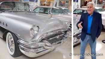 Jay Leno Recreates Hot First Hookup With His Wife In 1955 Buick Roadmaster - Yahoo Entertainment