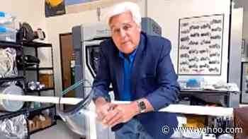Jay Leno 3D Prints Masks And Donates Them To First Responders - Yahoo Entertainment