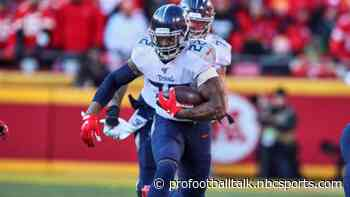 Derrick Henry favored to lead NFL in rushing yards