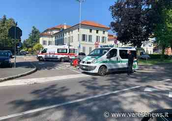 Incidente a Castellanza, cade dalla moto davanti al Comune - Varesenews
