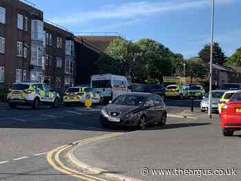 Armed police called to incident in Robert Lodge, Whitehawk
