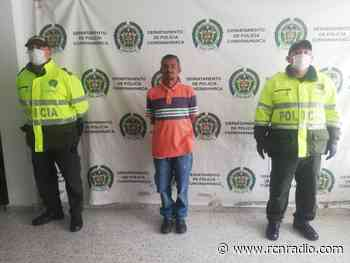 Capturan a delincuente reincidente en Chipaque, Cundinamarca - RCN Radio