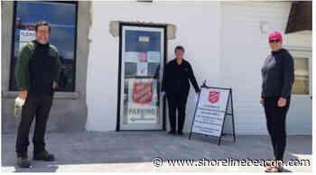 $5,000 donation to Port Elgin Food Bank by SASS - Shoreline Beacon