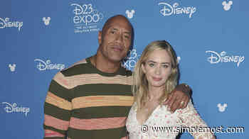 The Rock And Emily Blunt To Star In Superhero Movie On Netflix - Simplemost