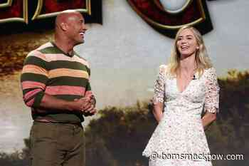 Ball and Chain: Dwayne Johnson and Emily Blunt team up in Netflix superhero movie - Bam! Smack! Pow!