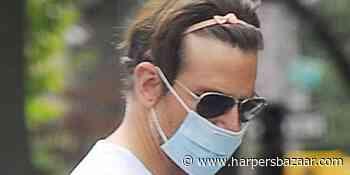 Bradley Cooper Rocked His Daughter's Pink Headband Around NYC - HarpersBAZAAR.com