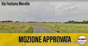 M5S Cerveteri: ''Approvata la nostra mozione su via Fontana Morella - BaraondaNews