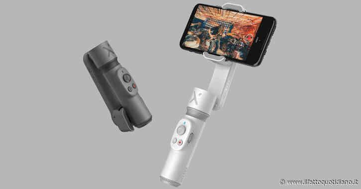 Zhiyun lancia Smooth X, uno stabilizzatore entry-level per smartphone con braccio telescopico