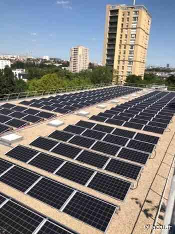 Cachan. Des panneaux solaires installés sur le toit de l'école La Plaine - actu.fr
