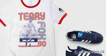 Terry Fox 40th anniversary Adidas sneakers sell out quickly, more commemorative items on the way