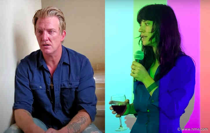 """Watch Sharon Van Etten and Josh Homme's """"home video"""" for '(What's So Funny 'Bout) Peace, Love and Understanding' cover"""