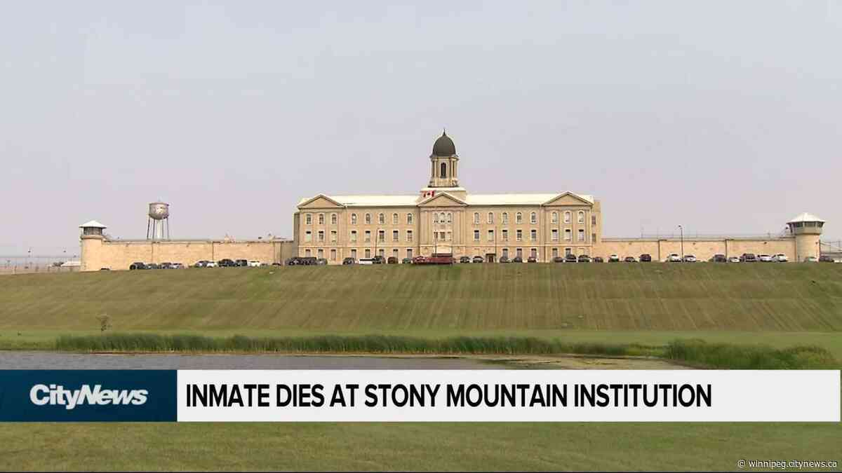 Inmate dies at Stony Mountain Institution - CityNews Winnipeg
