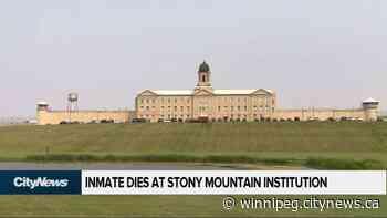 Inmate dies at Stony Mountain Institution - CityNews Winnipeg