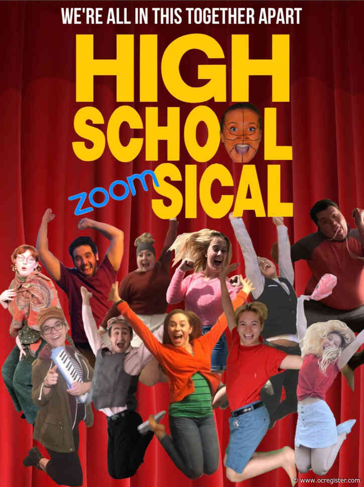 CSUF theater students premiere 'High School Zoomsical,' a virtual parody
