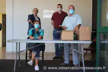 Grandvilliers : La distribution de masques se poursuit - L'observateur de Beauvais