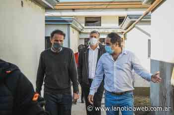 En Navarro, Katopodis y Maggiotti recorrieron el Hospital San Antonio de Padua - lanoticiaweb.com.ar