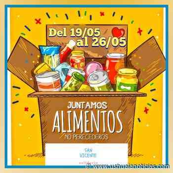 Colecta solidaria en el barrio San Vicente - Ushuaia Noticias