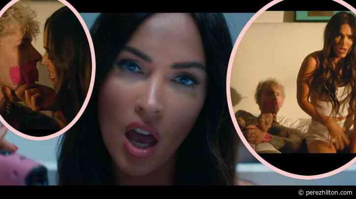 Megan Fox & Machine Gun Kelly Basically Confirm Their Relationship In Sexy New Music Video!