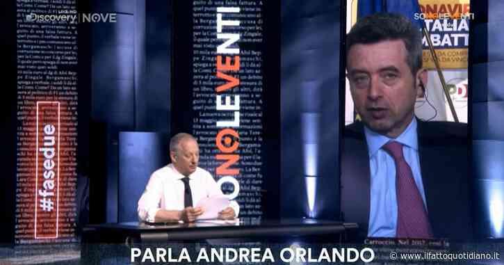 """Fca, Orlando a Sono le Venti (Nove): """"Paura di prestito non restituito? No, ma sì a garanzie sul futuro. In passato Fiat non mantenne impegni"""""""