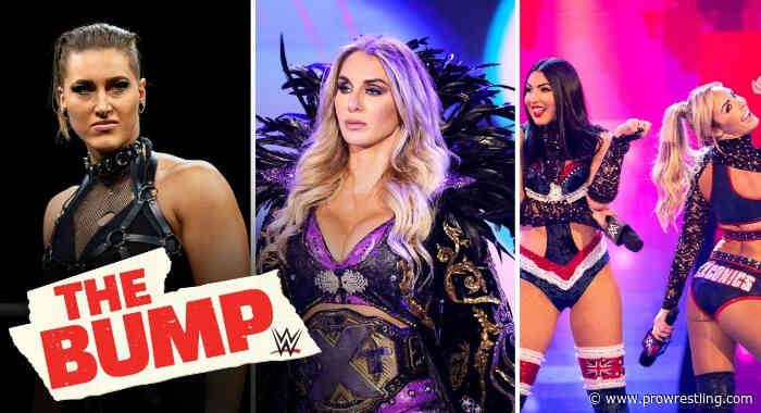 WATCH: Charlotte Flair, Rhea Ripley, The IIconics & More On WWE's 'The Bump'