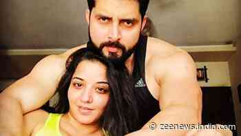 Bhojpuri siren Monalisa and husband Vikrant spread smiles with their funny TikTok videos - Check out! - Zee News