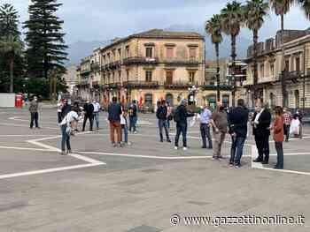 Giarre, manifestazione di Confcommercio in piazza Duomo. Domani sindaco incontra ristoratori VIDEO - Gazzettinonline