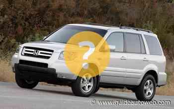 Un Honda Pilot 2007 à 3 000$, qu'en pensez-vous?