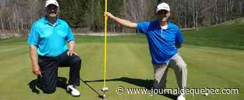 Golf: un capteur de balles anti-COVID sur les verts