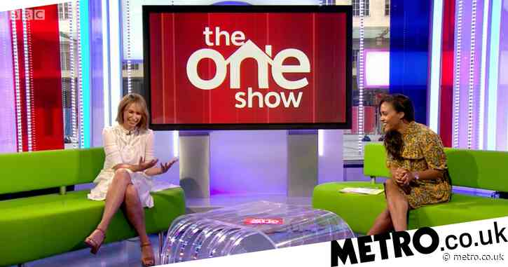 The One Show's Alex Jones cuts finger on air but co-host left unable to help due to social distancing