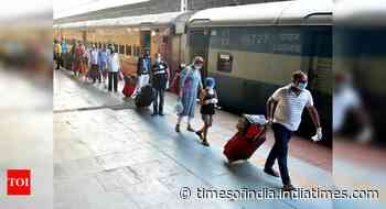 Online booking for 200 special trains from 10am today, large chunk connecting UP & Bihar