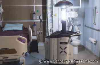Metro Vancouver hospital adds 'germ-killing' robots for hot spots - Vancouver Is Awesome