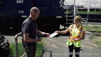 Island Corridor Foundation donates $14000 to Vancouver Island food banks - CTV News VI