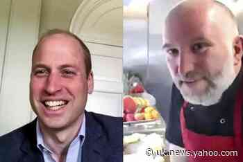 Prince William jokes about perils of dinner time with children in video call with charity