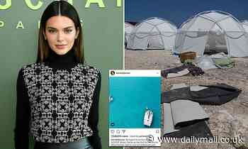 Kendall Jenner, 24, to pay $90k settlement after being sued for Fyre Festival Instagram post
