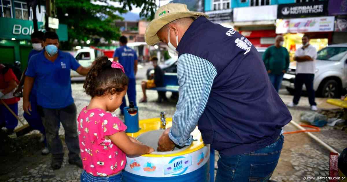 Mais lavatórios públicos são instalados em Guapimirim - NetDiário