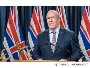 COVID-19: Premier Horgan calls on people to step in if they see a racist attack