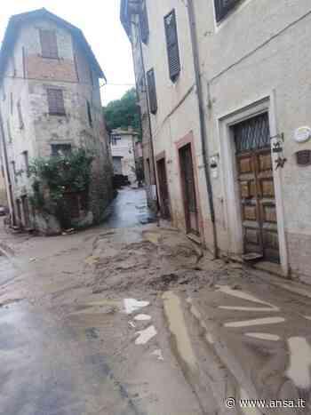 Maltempo, danni e disagi a Camerino - Agenzia ANSA
