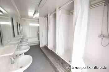 #Logistikhilft: Erste kostenlose WCs und Duschen eröffnet - Transport - Die Zeitung für den Güterverkehr