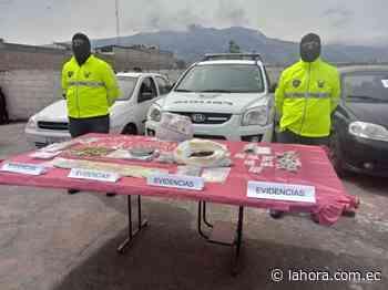 Cae banda de microtraficantes en Machachi - La Hora - La Hora (Ecuador)