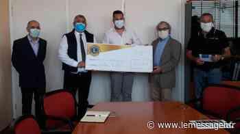 Thonon-les-Bains : remise d'une cagnotte de 31000 euros aux Hôpitaux du Léman. - Le Messager