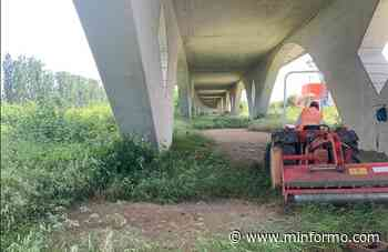 CAIVANO. Intervento di riqualificazione dell'area sotto il ponte della Tav - Minformo