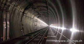 La compagnie BLS veut sécuriser le Lötschberg avec une cavité souterraine - Le Temps