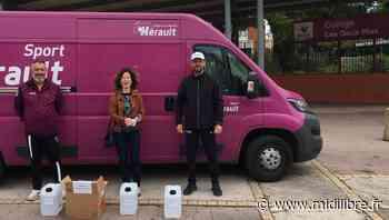 Frontignan : des bidons de gel hydroalcoolique pour les élèves - Midi Libre