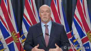 'They can expect the full weight of the law to come down upon them': B.C. premier on racist acts during pandemic