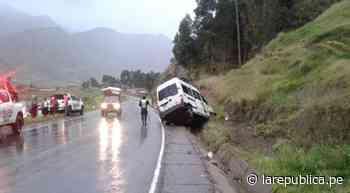 Cusco: Seis heridos deja despiste de minivan en Maranganí - LaRepública.pe
