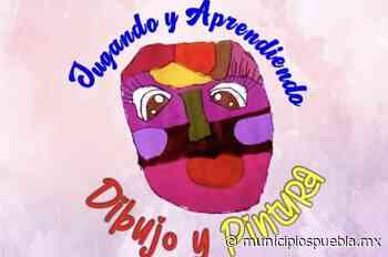 Invitan a niños de Atlixco a dibujar emociones por confinamiento - Municipios Puebla