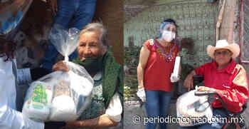 Apoyan a comunidades de Abasolo con despensas durante pandemia - Periodico Correo