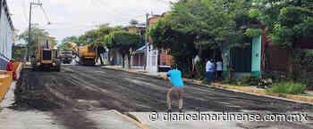 Gobierno de Tlapacoyan rehabilita la calle Abasolo - Diario el Martinense